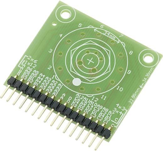 Adapter panel fokozatkapcsolóhoz 42,7 x 38,3 x 4,6 mm, Conrad SU709785