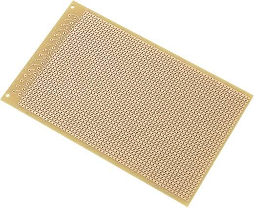 Conrad Euro panel 100 x 160 mm SU527416 (H x Sz) 160 mm x 100 mm Raszterméret 2.54 mm Keménypapír réz borítással