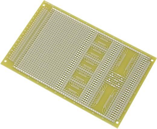 SMD NYÁK panel, Euro laborpanel (H x Sz) 160 mm x 100 mm Raszterméret 2.54 mm Epoxi Conrad SU527858