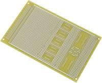 SMD NYÁK panel, Euro laborpanel (H x Sz) 160 mm x 100 mm Raszterméret 2.54 mm Epoxi Tru Components SU527858 Conrad Components