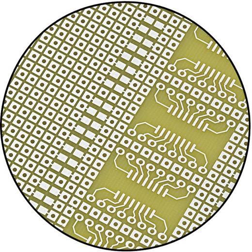 SMD NYÁK panel, Euro laborpanel (H x Sz) 160 mm x 100 mm Raszterméret 2.54 mm Epoxi Tru Components SU527858