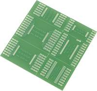 SMD kisérleti nyák panel 72,5 x 72,5 mm, Tru Components TRU COMPONENTS