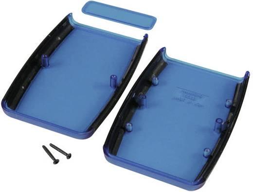 Műszerdoboz, 147x89x24 mm, kék átlátszó Hammond Electronics 1553DTBUBK