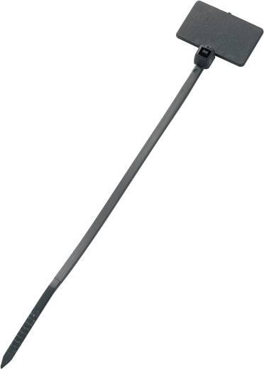 Feliratozható kábelkötöző, 100x2,5 mm, fekete, 1 db