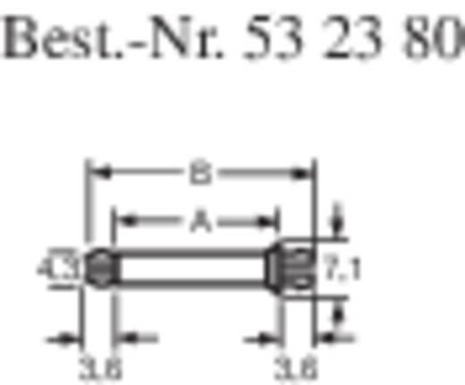 Richco Nyomtatott lap tartó MSP-4-01 (A x B) mm 6,4 x 13,6 Műanyag