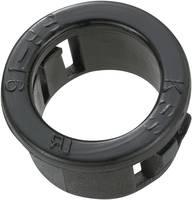 Kábelátvezető, Ø max. 12,7 mm, poliamid, fekete, TRU COMPONENTS TC-SBR16203 TRU COMPONENTS