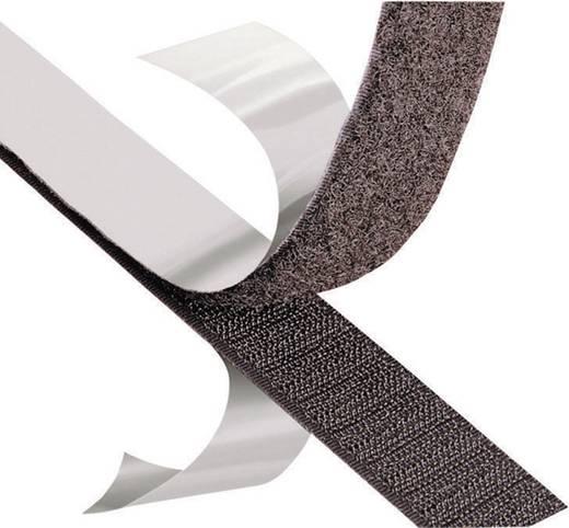 Tépőzáras ragasztó, 1000 x 50 mm, fekete, 3M SJ 3526N, méter áru