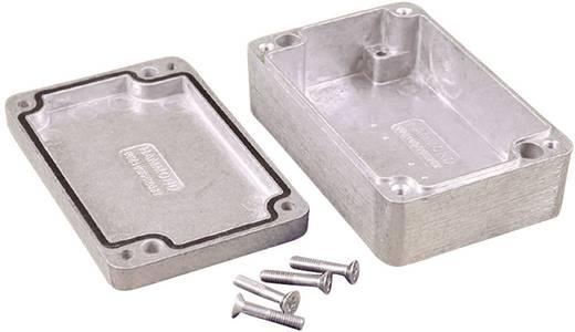 Hammond Electronics alu műszerház, IP66, 125x80x40 mm, natúr, 1550Z107