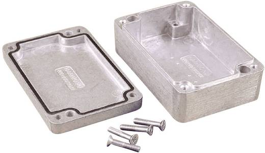 Hammond Electronics alu műszerház, IP66, 160x100x60 mm, natúr, 1550Z116