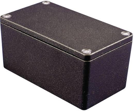 Hammond Electronics alu műszerház, IP66, 222x146x82 mm, fekete, 1550Z220BK