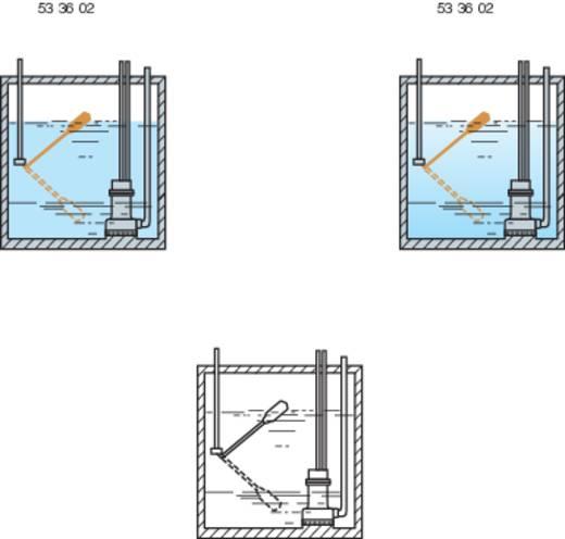 Úszókapcsoló 2 m vezetékkel, PN-F