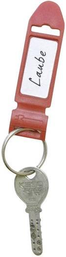Tépőzáras címkéző, piros, 5db, Label the Cable 2721