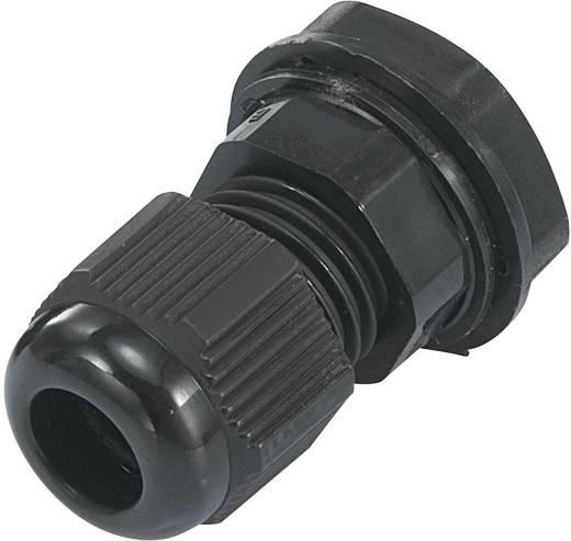 PG7 Poliamid Fekete (RAL 9005) KSS EGRWW7 1 db