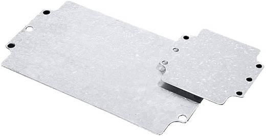 Acéllemez, szerelőlap műszerdobozhoz 214 mm x 264 mm Rittal GA 9117700