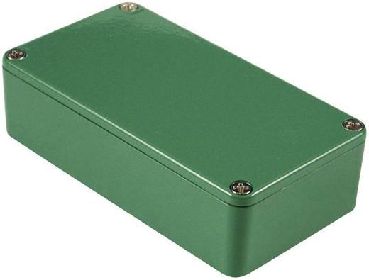 Hammond Electronics alu műszerház, IP54, 145x121x39 mm, zöld, 1590XXGR
