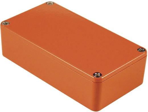 Hammond Electronics alu műszerház, IP54, 145x121x39 mm, narancs, 1590XXOR
