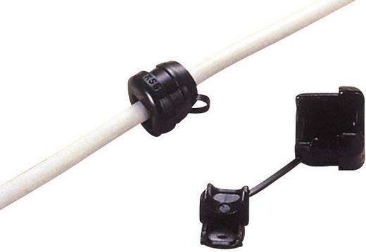 Kábel kihúzásgátló Ø max. 9,2 mm, polamid, fekete, KSS SRR6R3