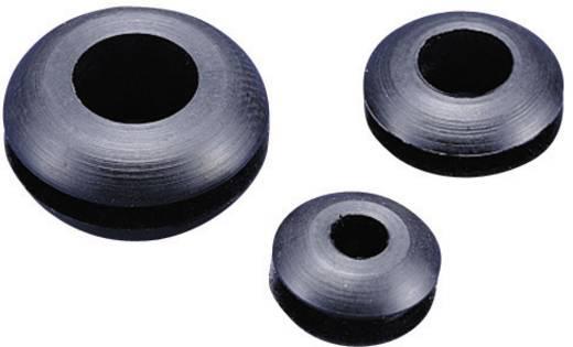 Kábelátvezető gyűrű Ø max. 25 mm, PVC, fekete, KSS GMR3225