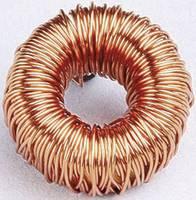 17501 Fojtó gyűrűmag Radiális kivezetéssel Raszterméret 6 mm 1000 µH 16 A 1 db (1625555)