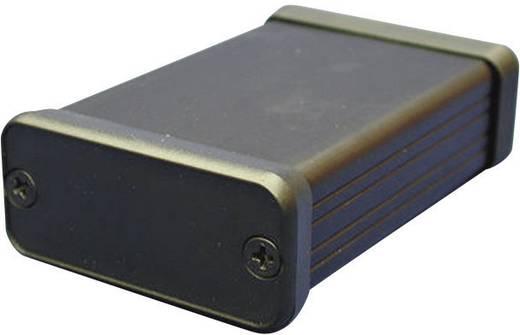 Hammond Electronics alumínium műszerdoboz 1455 1455Q2201BK alumínium (H x Sz x Ma) 223 x 120.5 x 51.5 mm, fekete