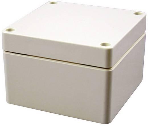 Hammond Electronics Műanyag doboz IP66 1554GGY ABS műanyag (H x Sz x Ma) 120 x 90 x 80 mm Fényes szürke (ral 7035)