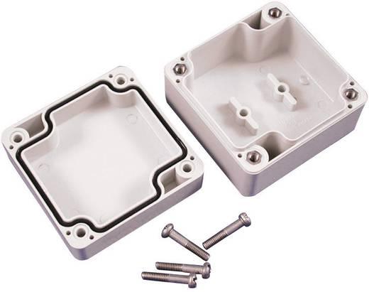 Hammond Electronics műanyag műszerház, IP66, 120x120x60 mm, szürke, 1554NGY