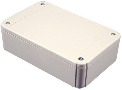 Hammond Electronics Doboz rögzítő peremmel, IP54 RL6225-F ABS műanyag, 125 x 80 x 50 mm Fényes szürke (ral 7035)