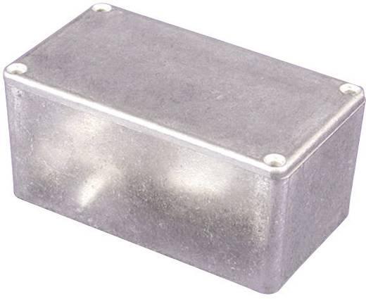 Univerzális műszerdoboz alumínium, fekete 80 x 55 x 25 Hammond Electronics 1550PBK 1 db