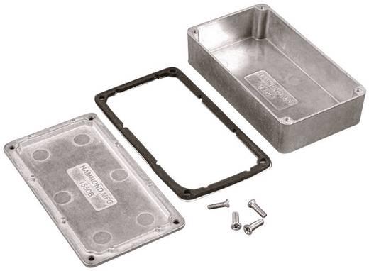 Univerzális műszerdoboz alumínium, fekete 60 x 55 x 30 Hammond Electronics 1550WQBK 1 db
