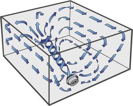 Padló ventilátor 45 W, Ø 19 cm, fekete, Vornado 530