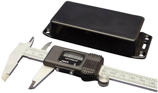Univerzális műszerdoboz ABS, fekete 120 x 80 x 59 Hammond Electronics 1591TFLBK 1 db