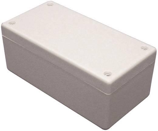 Univerzális műszerdoboz ABS, élénk szürke (RAL 7035) 131 x 66 x 55 Hammond Electronics 1594DGY 1 db