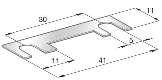Szalagbiztosíték 100 A, 32 V, 41 x 11 x 0,55 mm, ESKA 341243