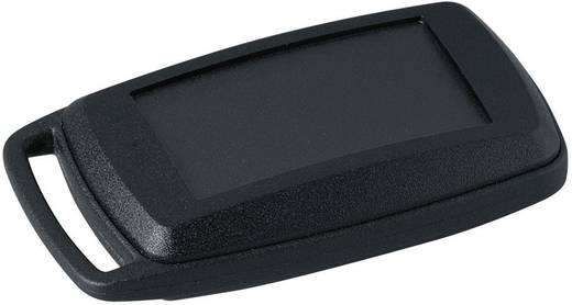 Kézi műszerdoboz, műanyag, fekete 52 x 32 x 15 mm, OKW D9002096, 1 szett
