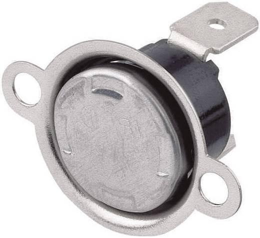 Bimetall kapcsolók Nyitó hőmérséklet ± 5°C 150 °C Zárási hőmérséklet 110 °C max.. 250 V~ max.. 6 A