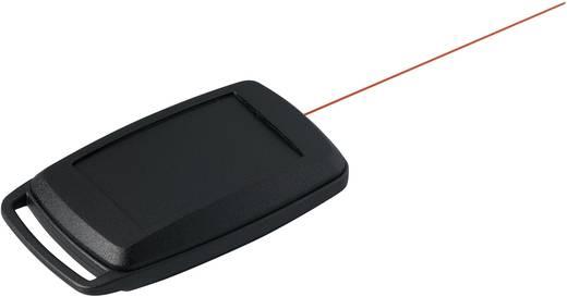 Kézi műszerdoboz, műanyag, fekete 68 x 42 x 18 mm, OKW D9004096, 1 szett