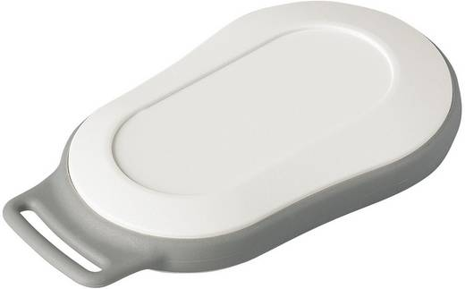 Kézi műszerdoboz, műanyag, szürke-, fehér 70 x 44 x 16 mm, OKW D9004207, 1 szett