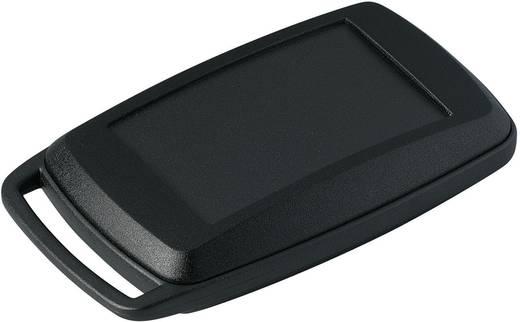 Kézi műszerdoboz, műanyag, fekete 78 x 48 x 20 mm, OKW D9006096, 1 szett