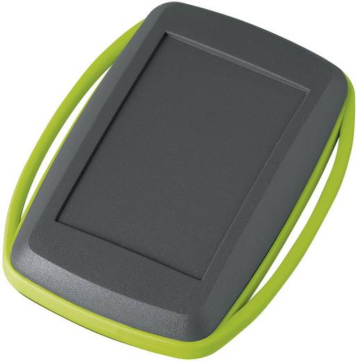 Kézi műszerdoboz, műanyag, láva, zöld 78 x 48 x 20 mm, OKW D9006178, 1 szett