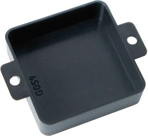 Nyitott műszerház, üres műszer doboz G059 40x40x12mm fekete Kemo Electronic