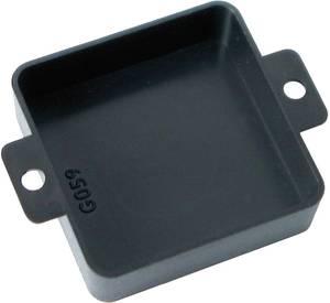 Nyitott műszerdoboz, (H x Sz x M) 40 x 40 x 12mm, fekete hőre lágyuló műanyag, Kemo Electronic G059, 1 db Kemo