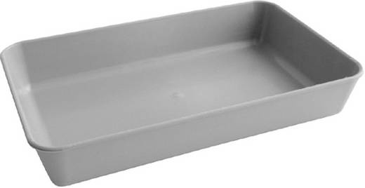 Műanyag munkatálca G062 fehér színű 205x130x35mm Kemo Electronic