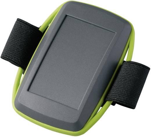 Kézi műszerdoboz, műanyag, láva, zöld 78 x 48 x 20 mm, OKW D9106178, 1 szett