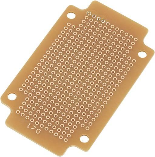 Conrad Keménypapír réz borítással SUPCB003 Egyoldalas (H x Sz) 77.5 mm x 47.3 mm Raszterméret 2.54 mm Keménypapír