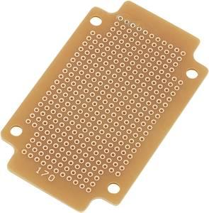 Nyák panel, keménypapír, 77,5 x 47,3 mm, Tru Components SUPCB003 TRU COMPONENTS