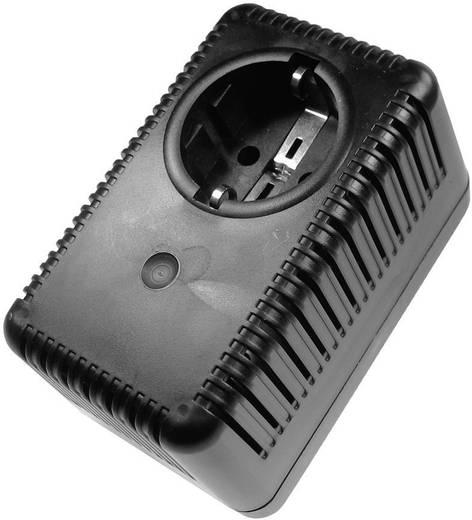 Üres dugaszadapterház STG15 112x67mm fekete Kemo Electronic