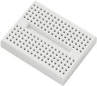Dugaszolható próbapanel, (H x Sz x M) 45.72 x 35.56 x 9.4 mm, fehér, pólusok száma: 170, TRU COMPONENTS, 1 db TRU COMPONENTS