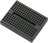 Dugaszolható próbapanel, fekete, Tru Components TRU COMPONENTS