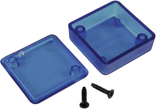 Univerzális műszerdoboz ABS, kék (áttetsző) 40 x 40 x 15 Hammond Electronics 1551QTBU 1 db
