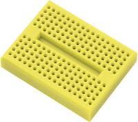 Dugaszolható próbapanel, sárga, Tru Components TRU COMPONENTS